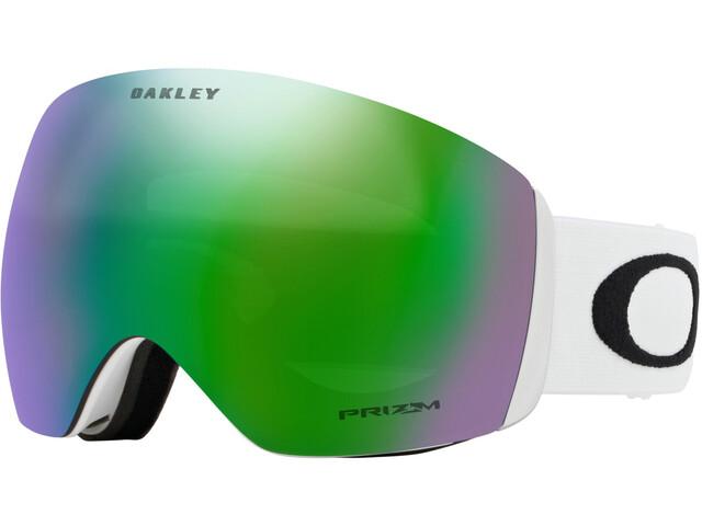 Oakley Flight Deck Lunettes de protection Homme, matte white/prizm jade iridium